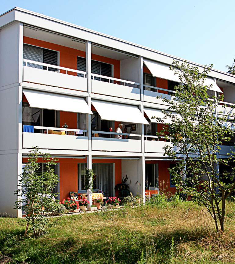 Appartamenti per anziani a Zurigo