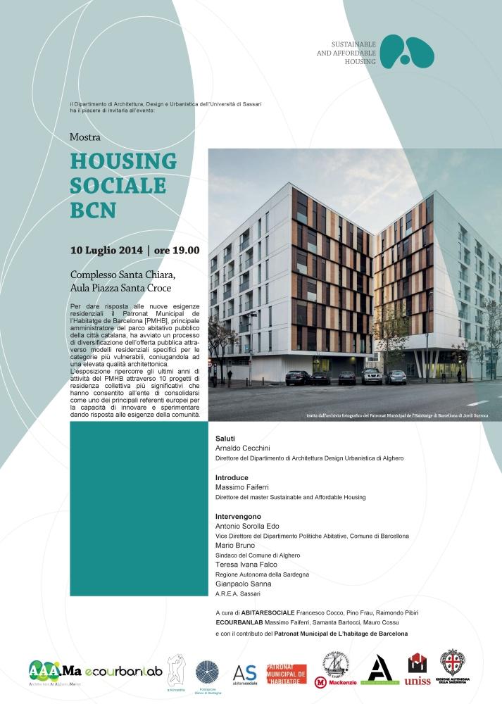 Inaugurazione mostra HOUSING SOCIALE BARCELLONA (2/2)